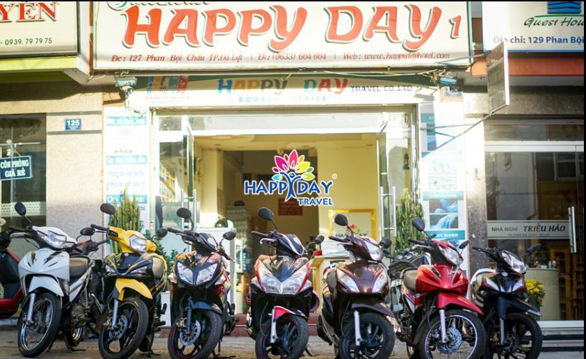Điểm cho thuê xe máy Happy Day