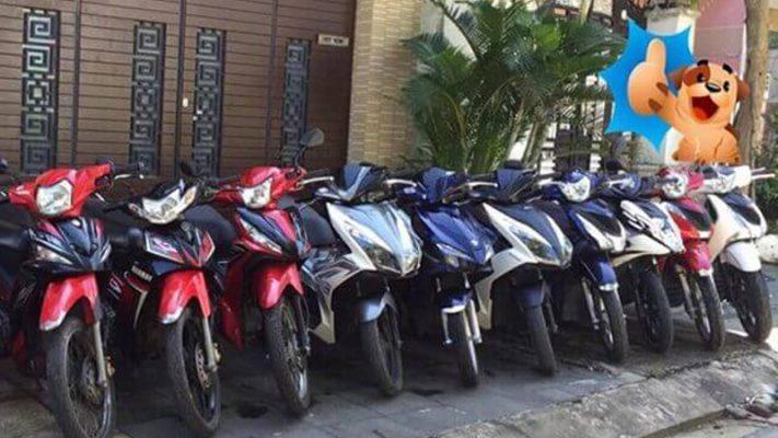 Cơ sở Anh Tân cho thuê xe máy