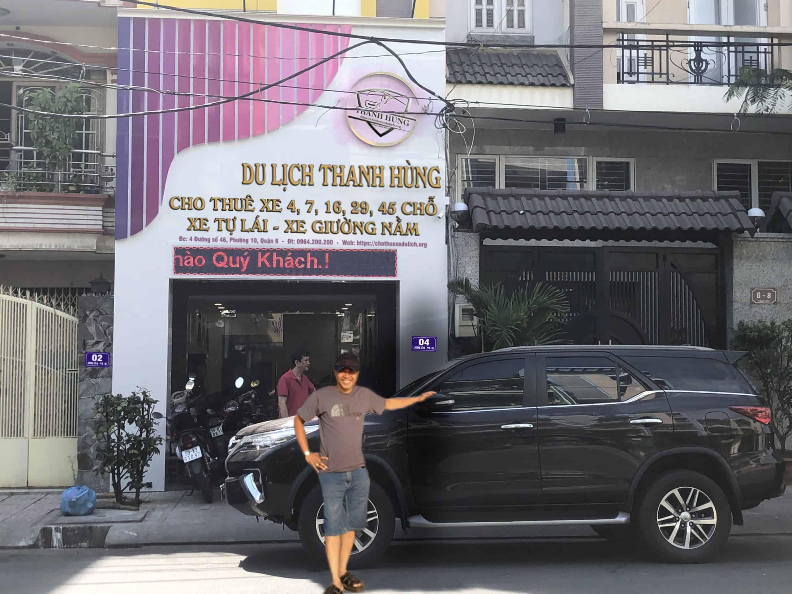 dịch vụ thanh hùng chuyên cho thuê xe tự lái
