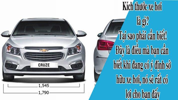 kích thước của các loại xe ô tô
