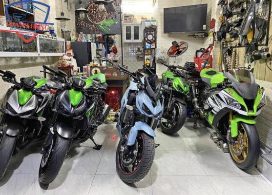 Dịch vụ cho thuê xe mô tô