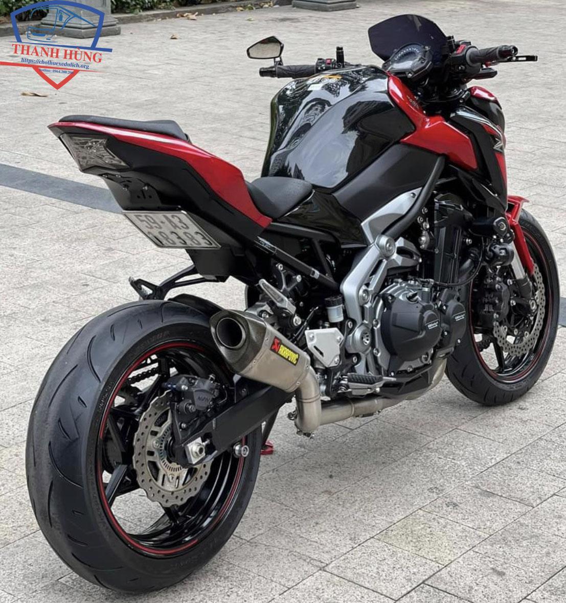 Thuê xe moto pkl z900