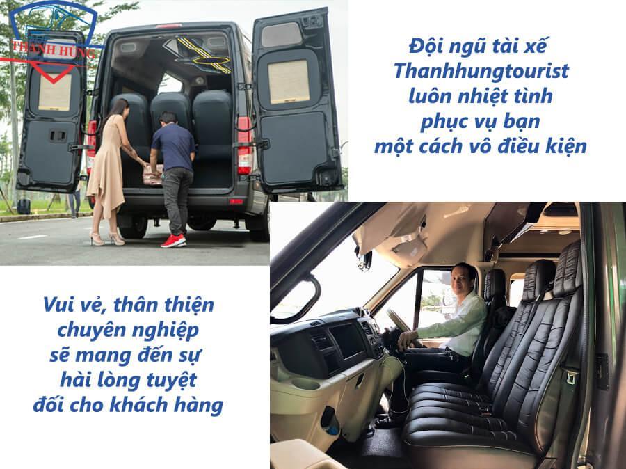 cần thuê xe 16 chỗ tại TPHCM