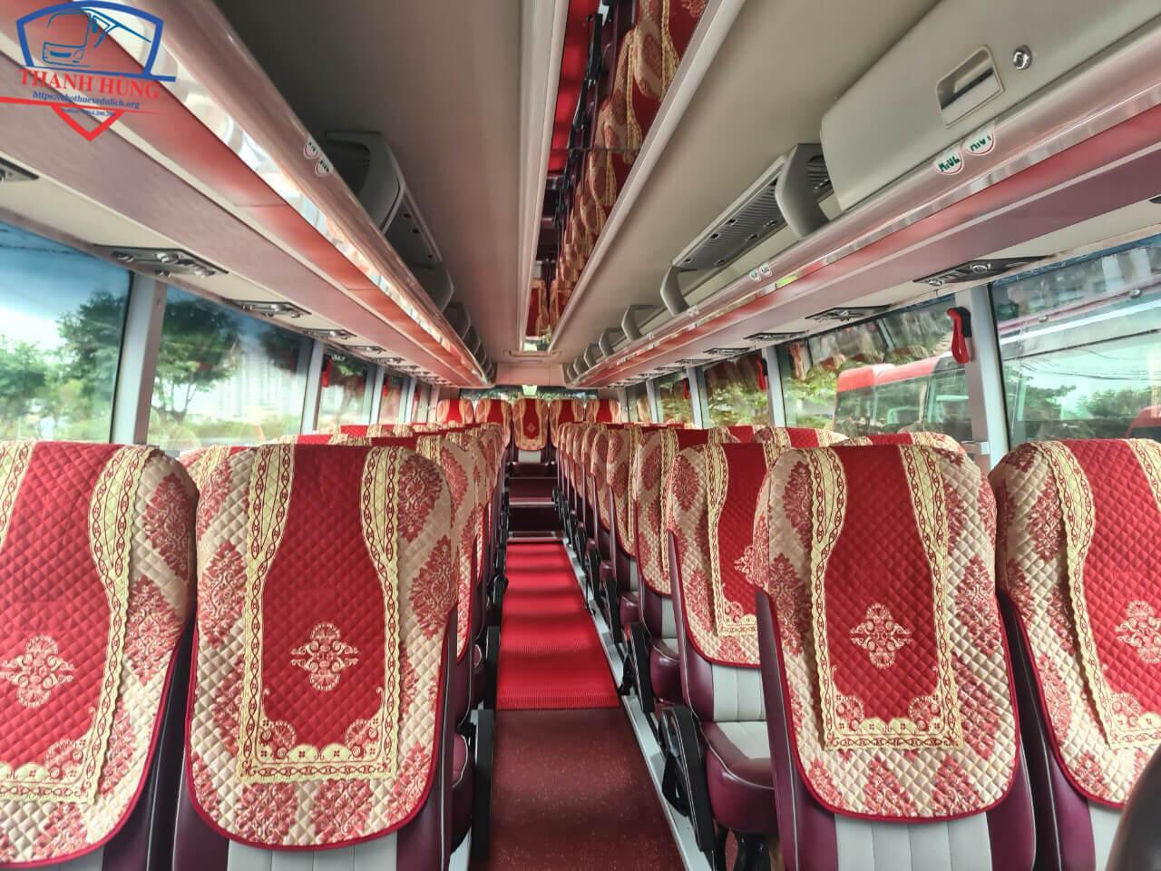 Cho thuê xe khách Thaco
