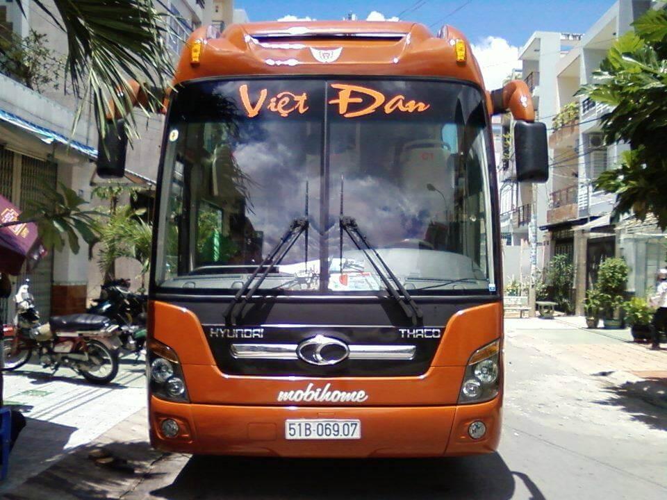 Việt Đan nhà xe đi Trà Vinh