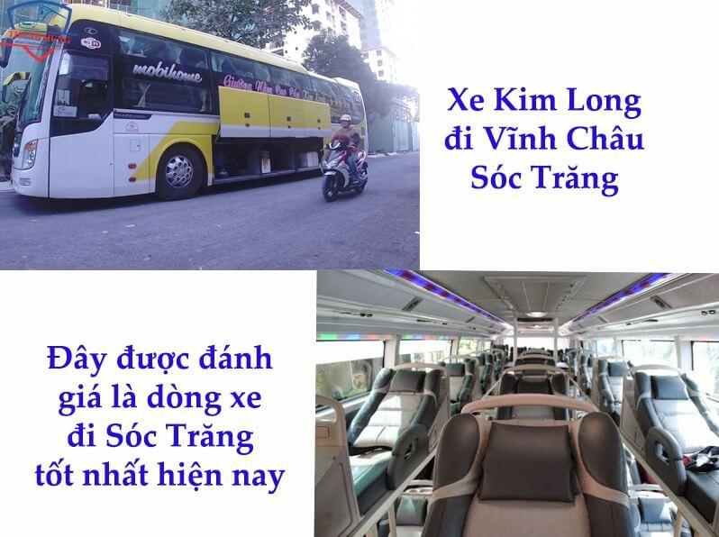 Xe Kim Long đi Vĩnh Châu Sóc Trăng