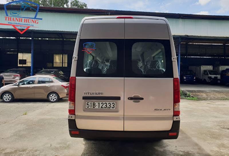 Cho thuê xe du lịch Hyundai