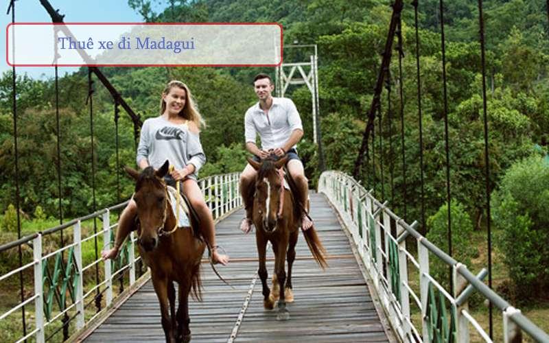 Cưỡi ngựa tại Madagui