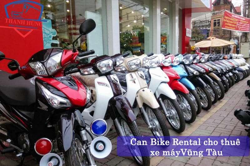 Cho thuê xe máy Vũng Tàu