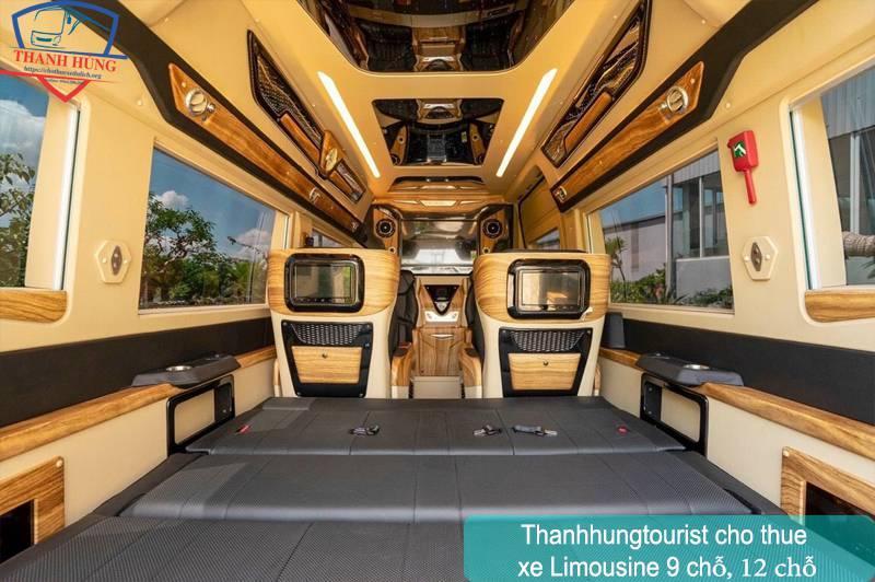 Thuê xe 9 chỗ limousine TPHCM