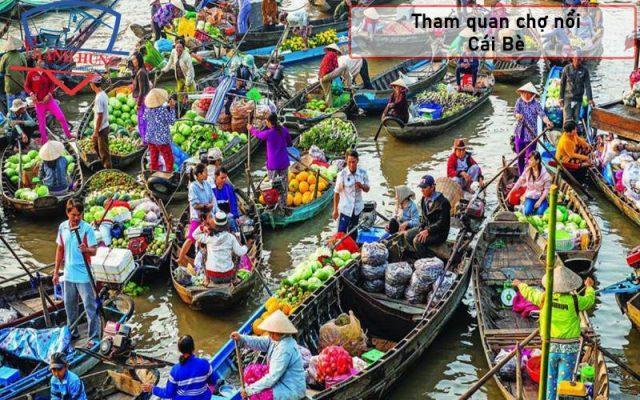Thuê xe đi cái bè Tiền Giang