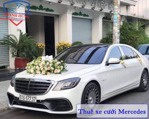 Cho Thuê xe hoa Mercedes HCM