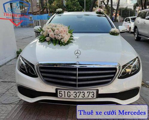 Thuê xe hoa Mercedes TPHCM
