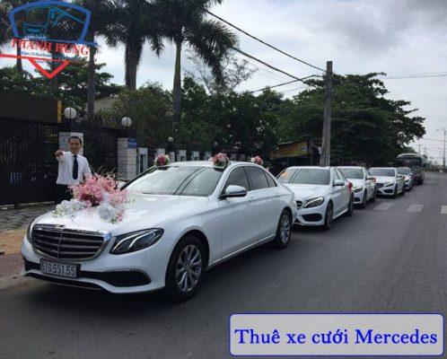 Thuê xe hoa Mercedes HCM